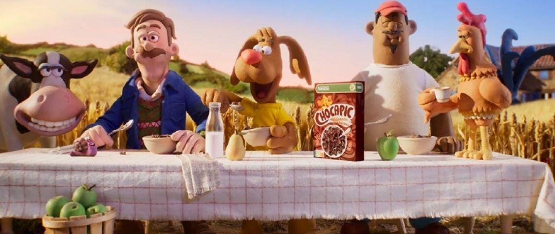 Capture de la campagne publicitaire Chocapic