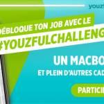 Affiche campagne #youzfulchallenge