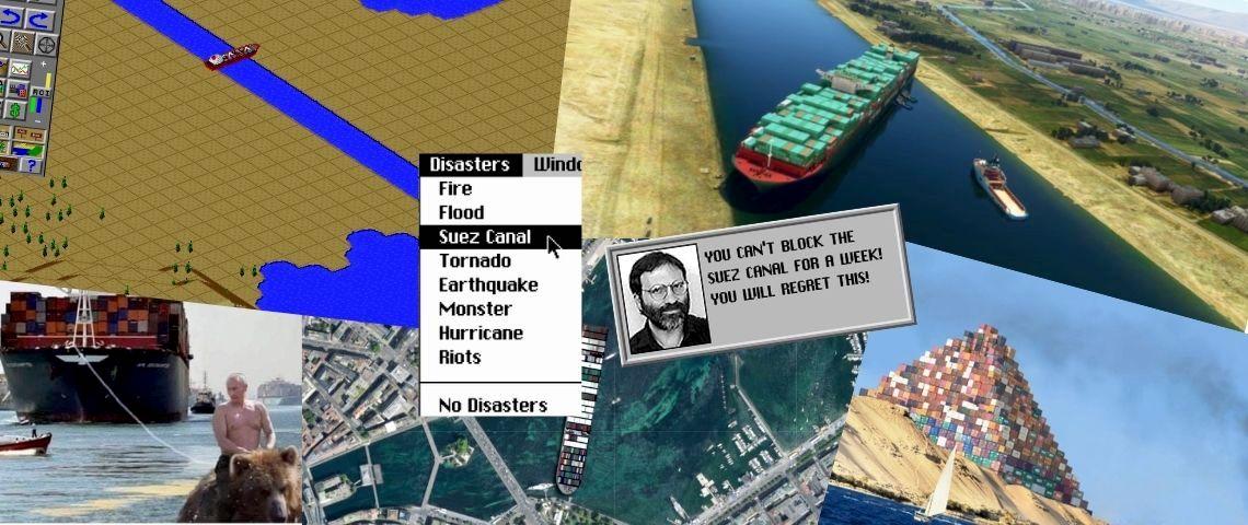 Canal de Suez : mèmes, jeux vidéo... En ligne, les 15 minutes de gloire du navire « Ever Given »