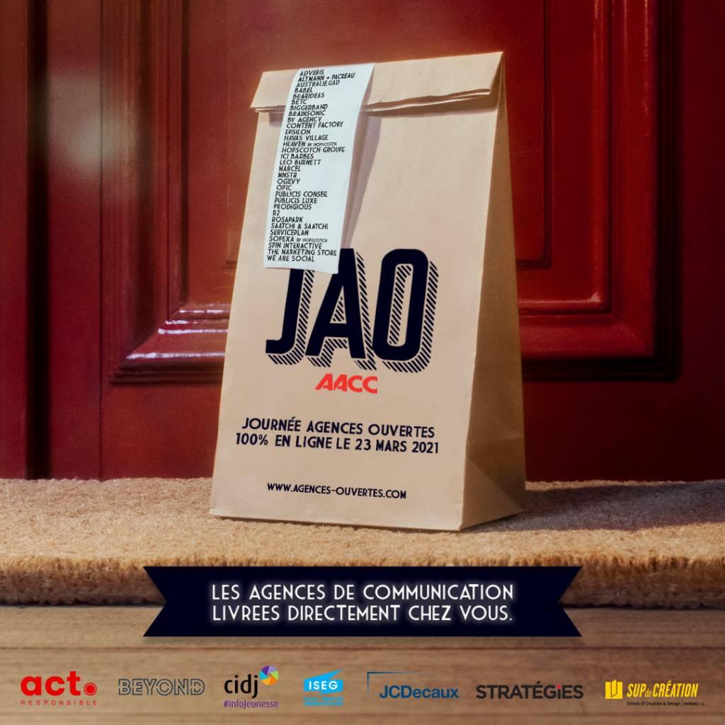 Affiche : Journées Agences Ouvertes - AACC