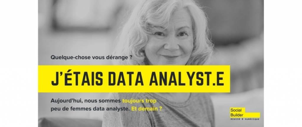 Femme data analyst