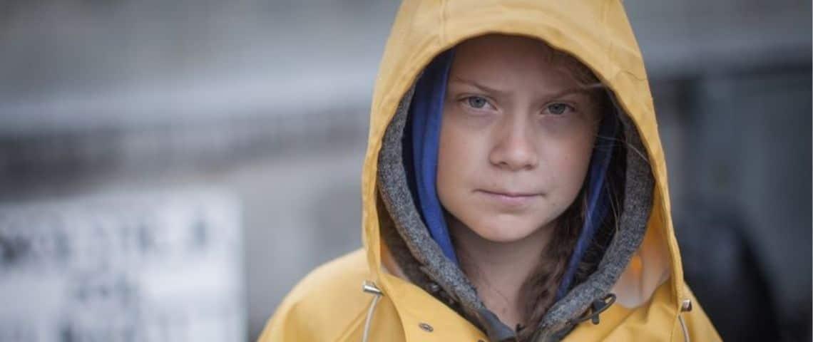 Greta Thunberg en 2018