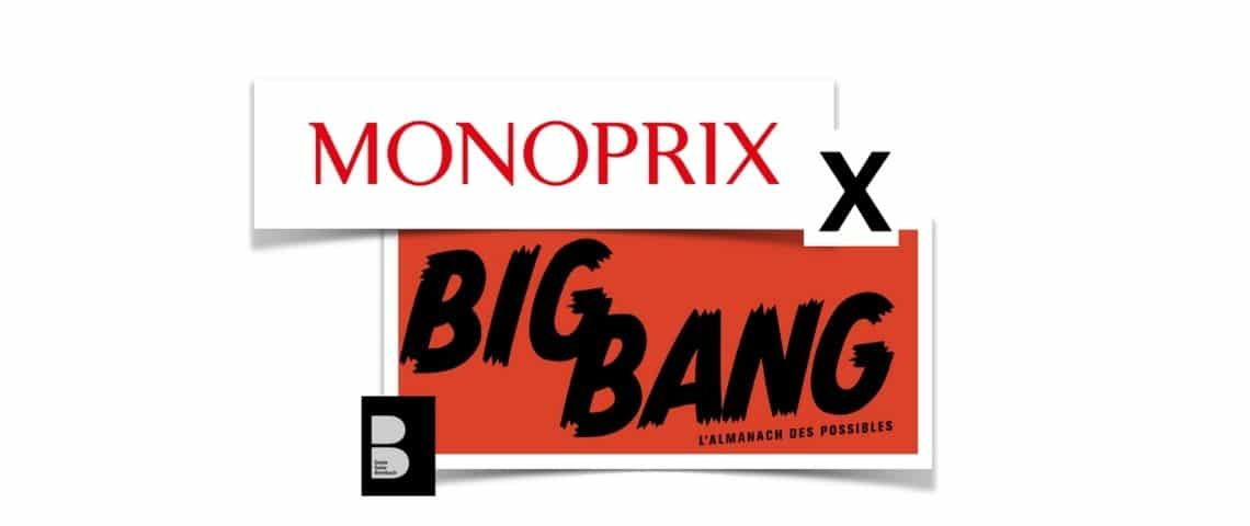 Logo Monoprix X Big Bang
