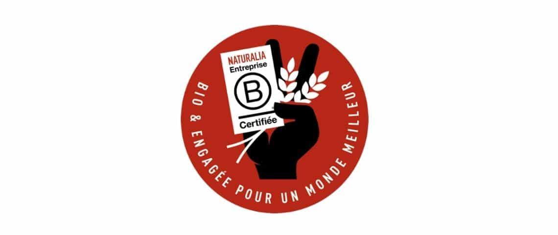 Logo Naturalia certifié B Corp