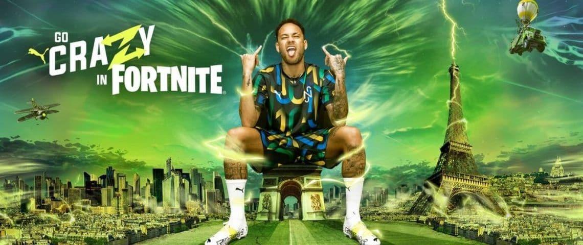 Neymar sur Fortnite