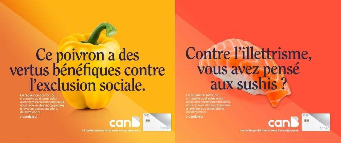 Campagne publicitaire CanB x Belle