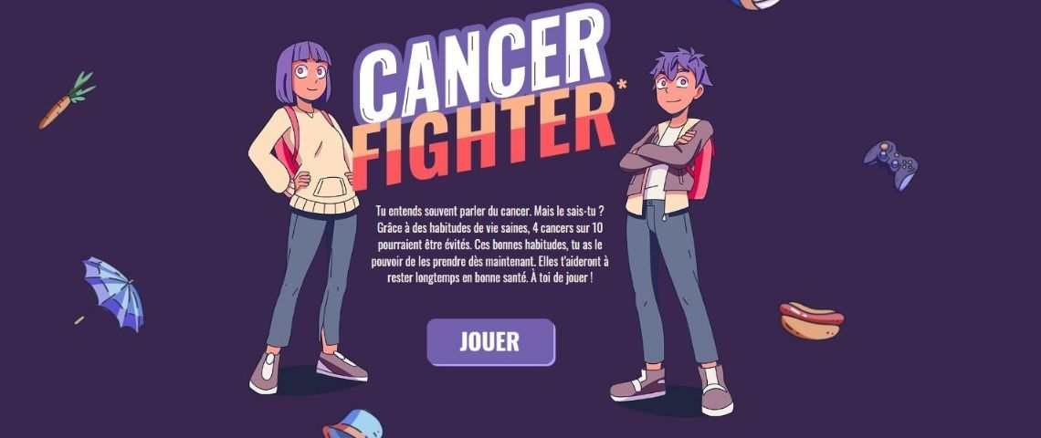 Capture du jeu Cancer Fighter
