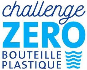 Logo Challenge Zéro Bouteille Plastique