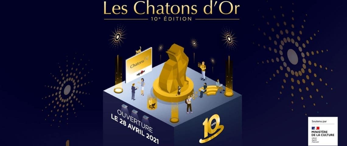 Logo des Chatons d'or