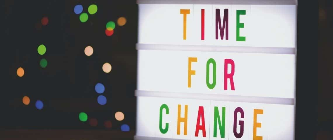 Message  - Time For Change -