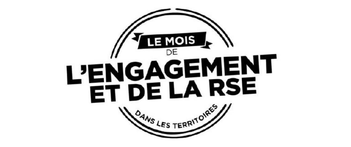 Logo : Le mois de l'engagement et de la RSE