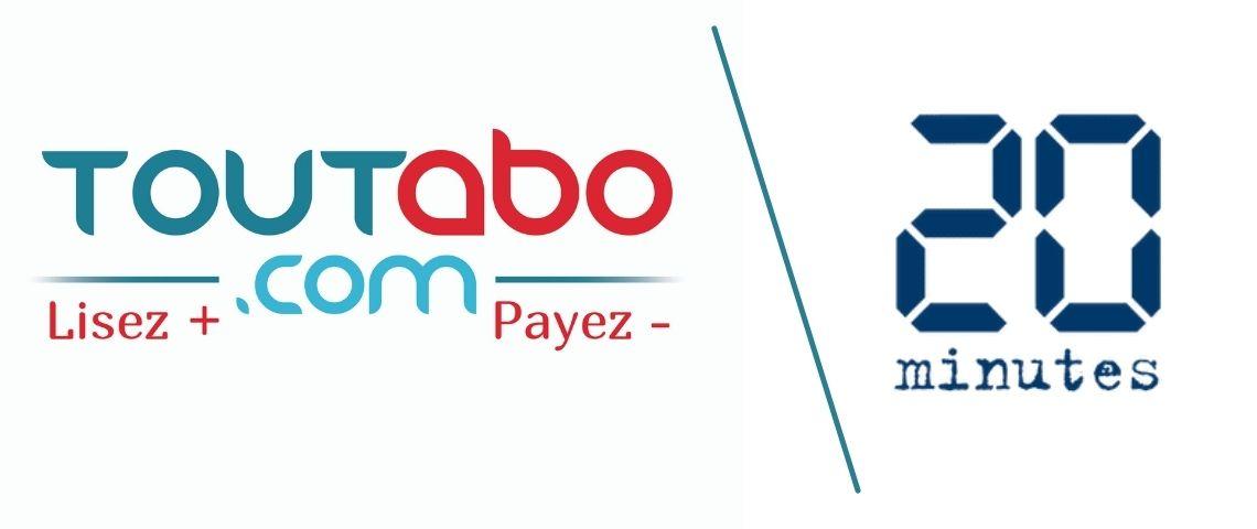 Logo Toutabo et 20 minutes