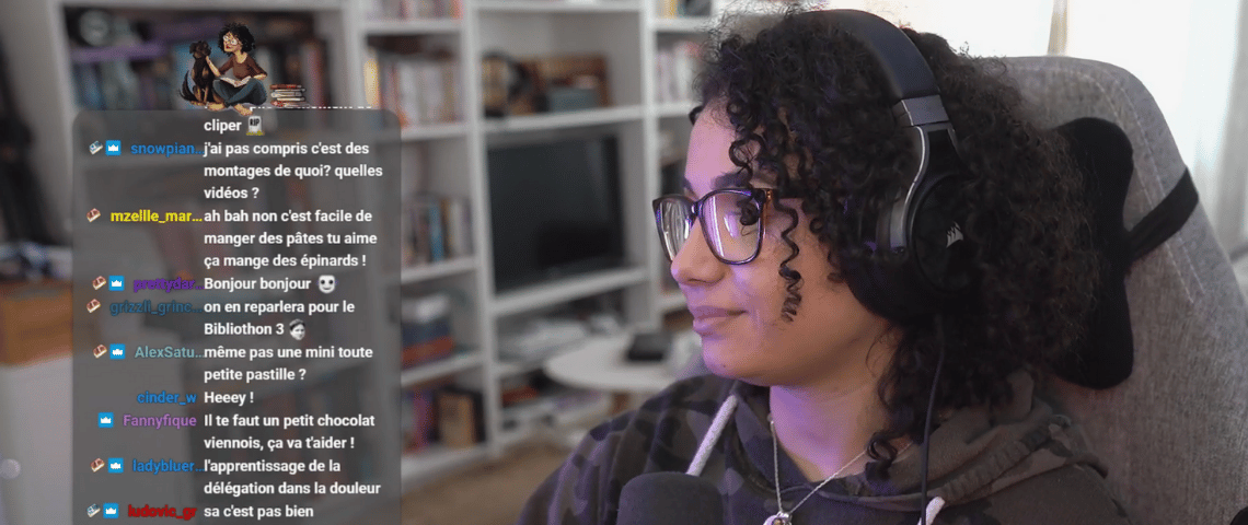 La streameuse Twitch