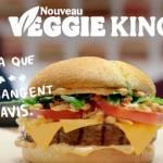 Un burger vegan - campagne Burger King