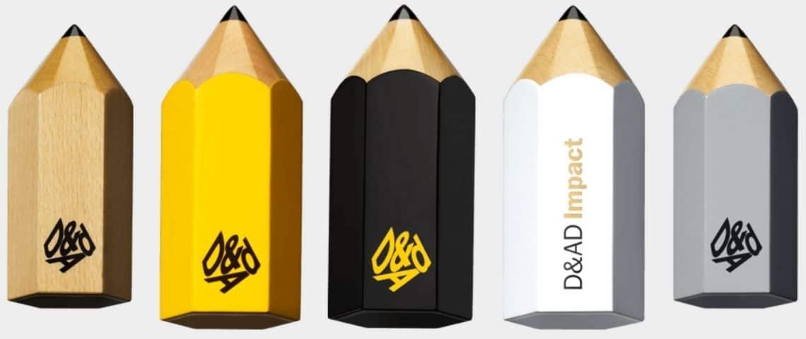Les prix D&AD Awards (crayons)