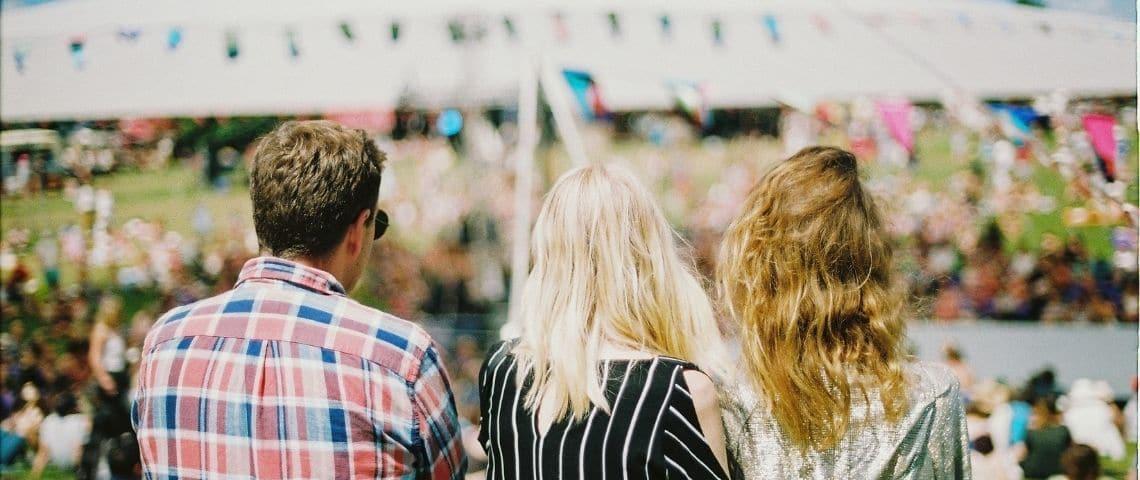 Des gens à un événement