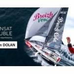 Bateau Breizh Cola avec Gildas Mahé et Tom Dolan à bord