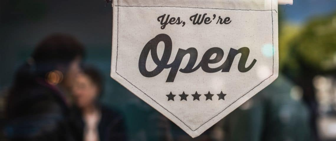 Fagnion : Yes we're open