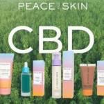 Produits de la gamme cosmétiques Peace & Skin