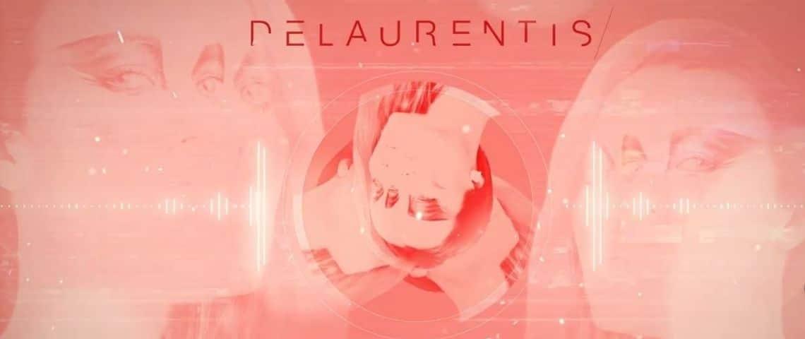 capture de la campagne Tv avec le nom de l'artiste Delaurentis