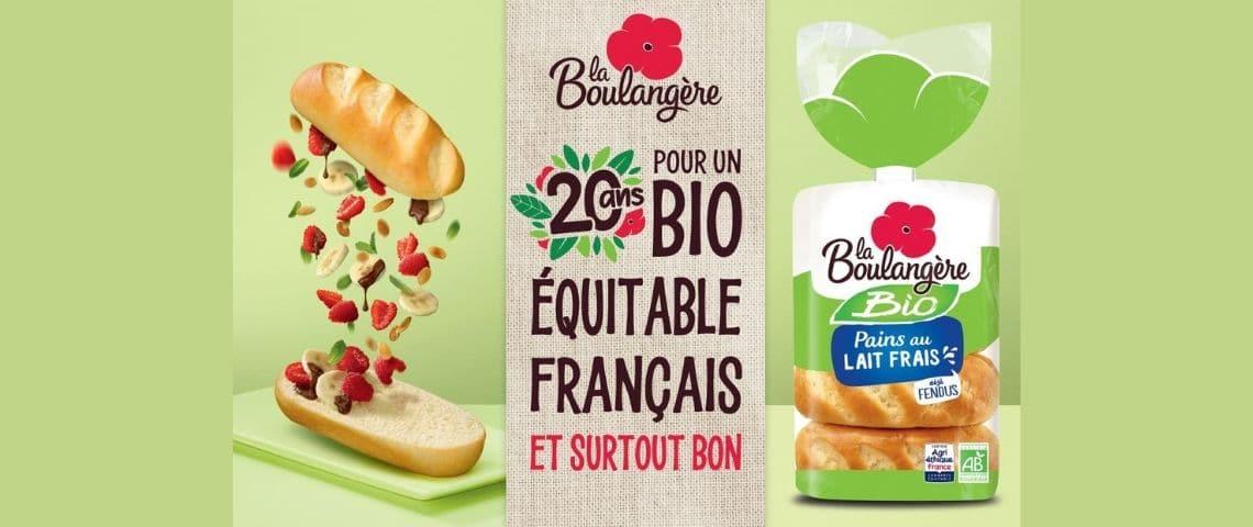 Produits de la marque la Boulangère : Pains au lait