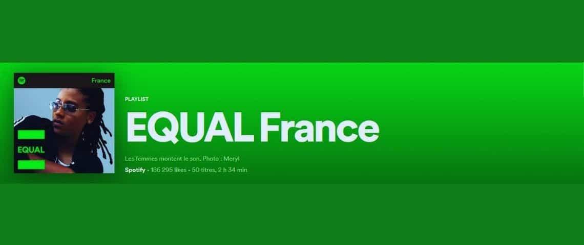Capture de la Playlist française