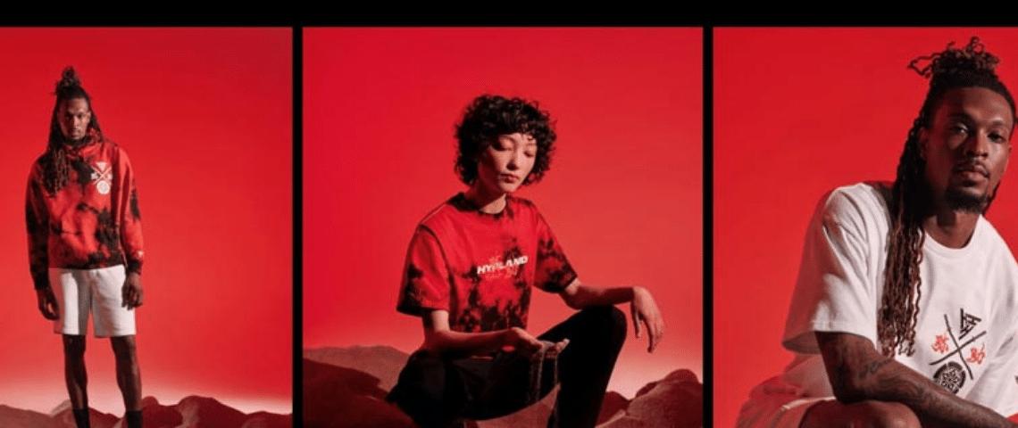 Collection Netflix x Hypland pour la série Yasuke