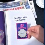 Ticket à gratter / Campagne Boursorama