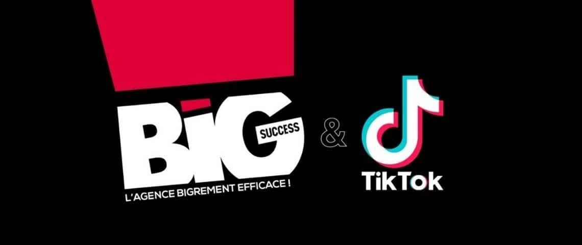 Logo big Success et TikTok