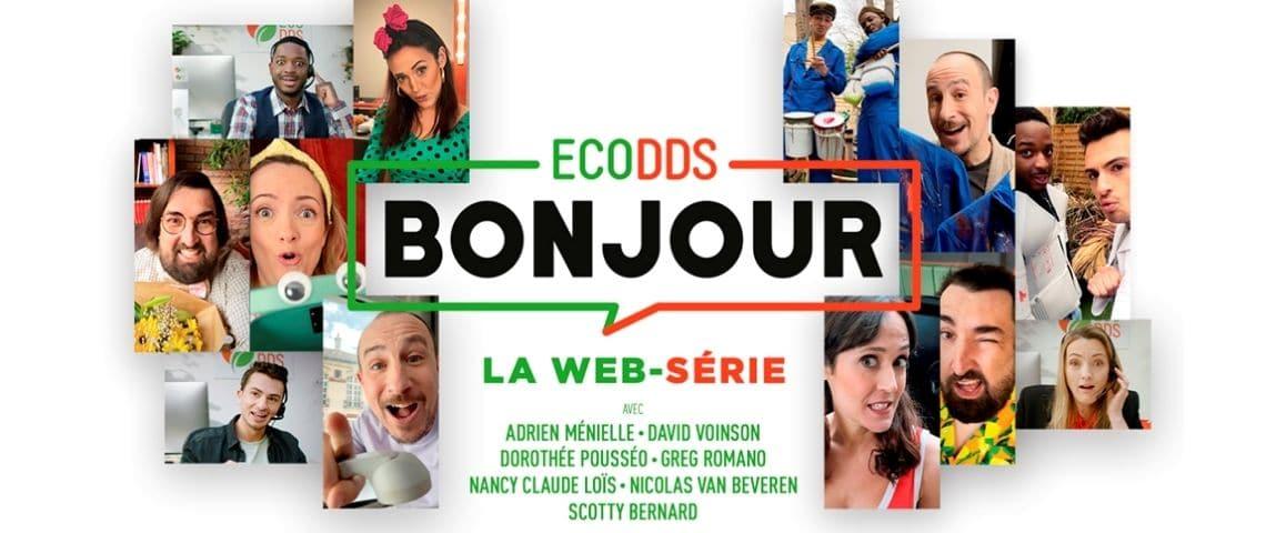 Flyer de la webserie EcoDDs bonjour
