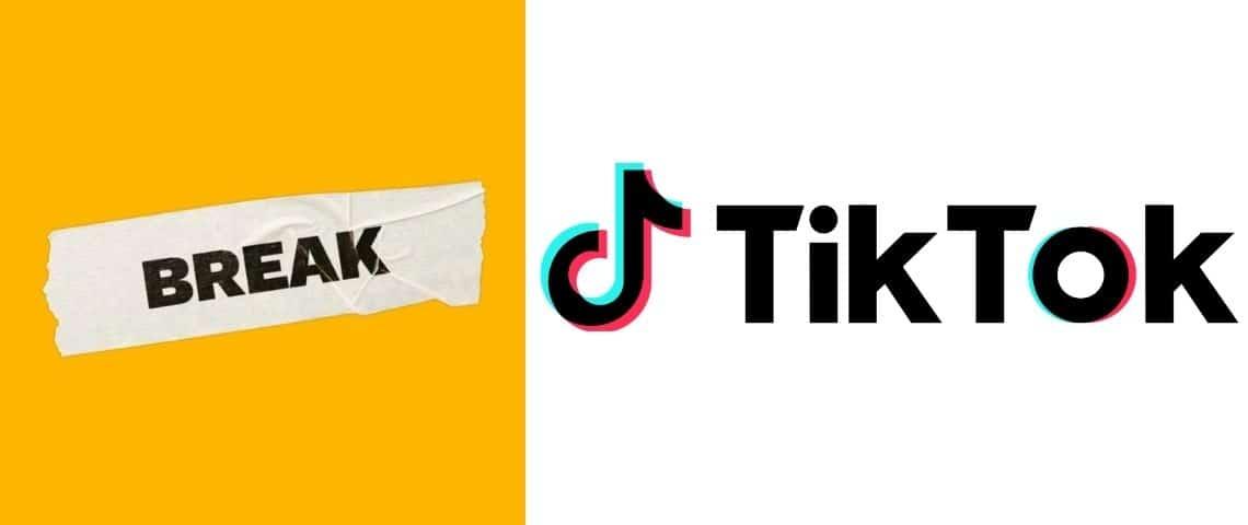 Logo Break et Tiktok