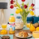 Table d'un petit déjeuner