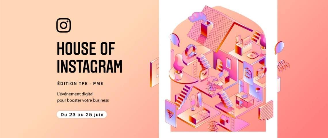 Affiche House of Instagram, édition TPE-PME