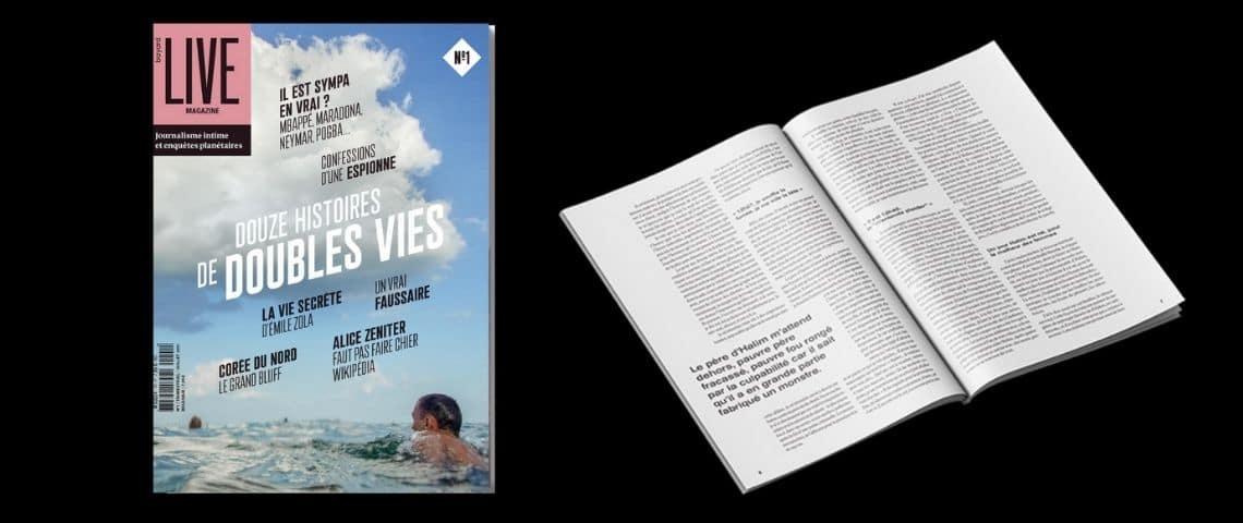 Couverture Live Magazinee