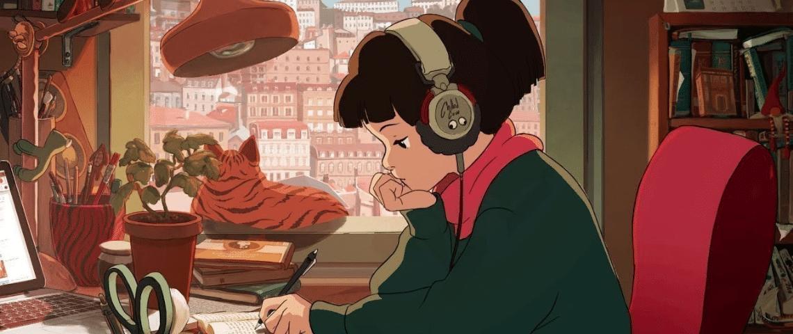 La  - lofi Girl - , icône du besoin de concentration mais aussi de l'isolement