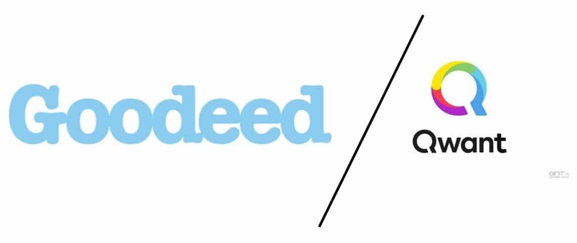 Logos de Goodeed et Qwant