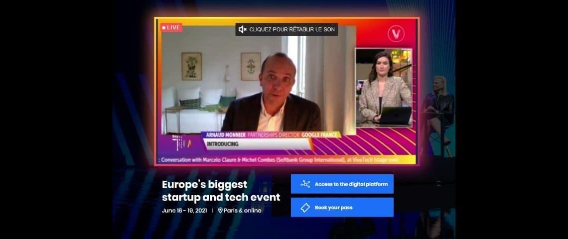 Capture d'écran de la chaîne Vivatech News