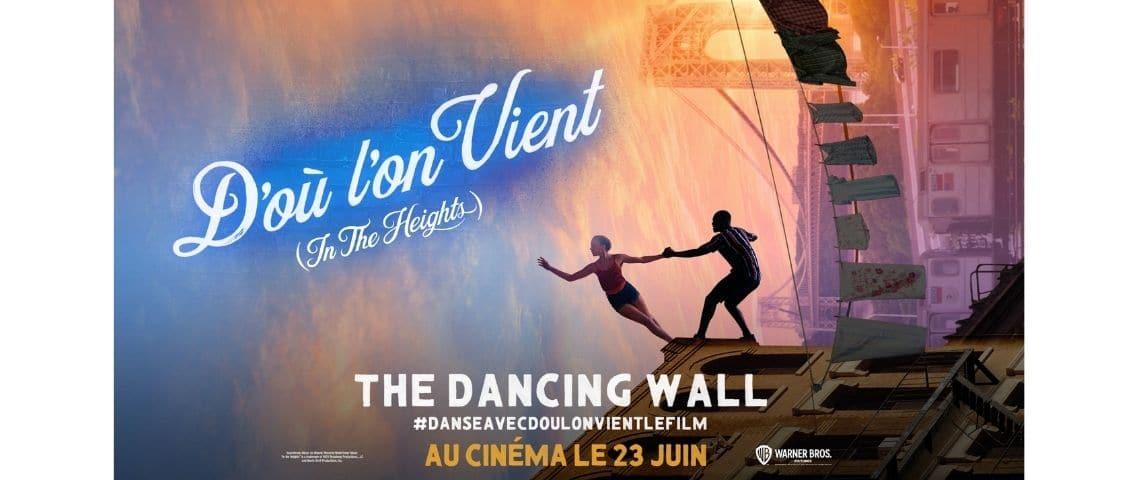 Affiche du film « d'où l'on vient » (« in the heights »)