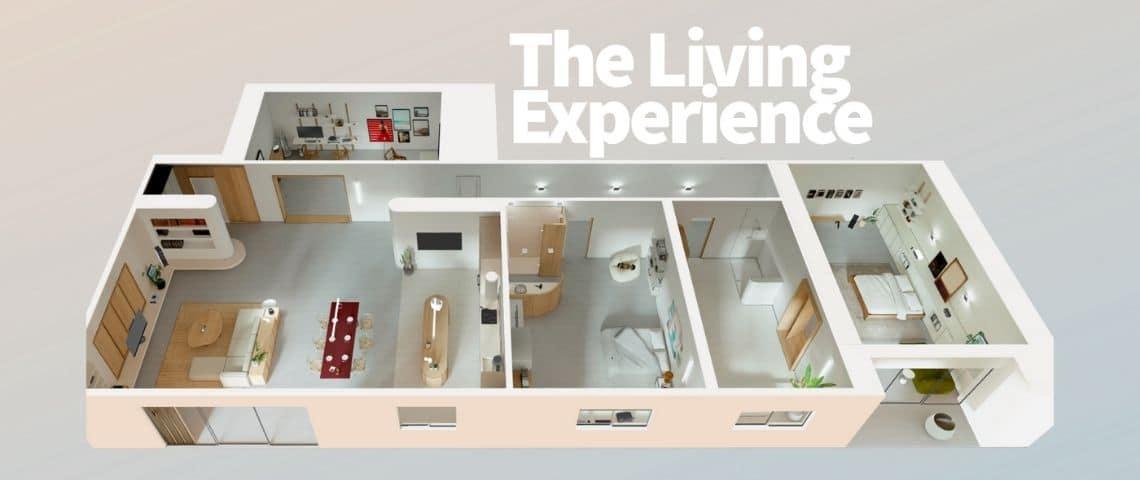 Appartement 3D par Panasonic