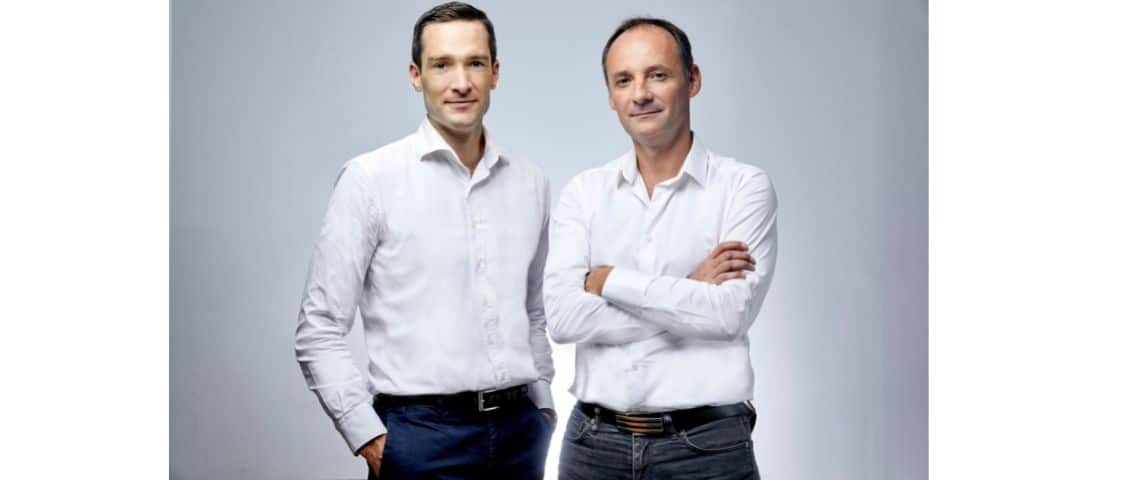 Deux fondateurs de Mano Mano