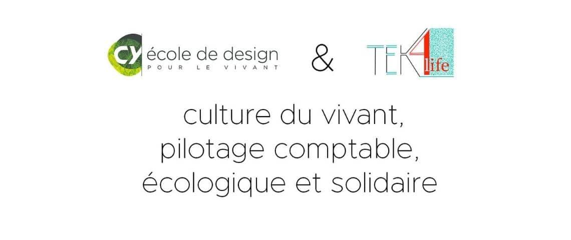 Logo formation : « Culture du vivant, et pilotage comptable, écologique et solidaire ».