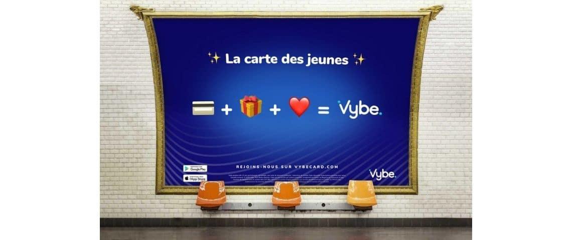 Affiche métro parisien