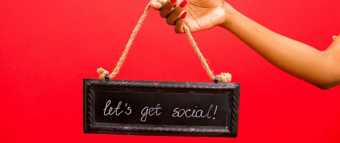 Affiche : let's get social