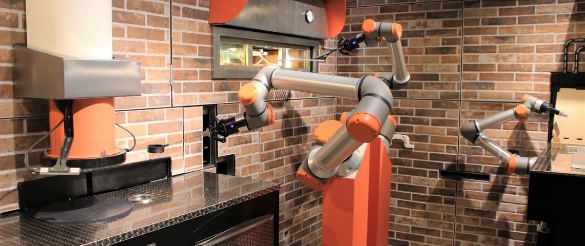 Robot à pizza