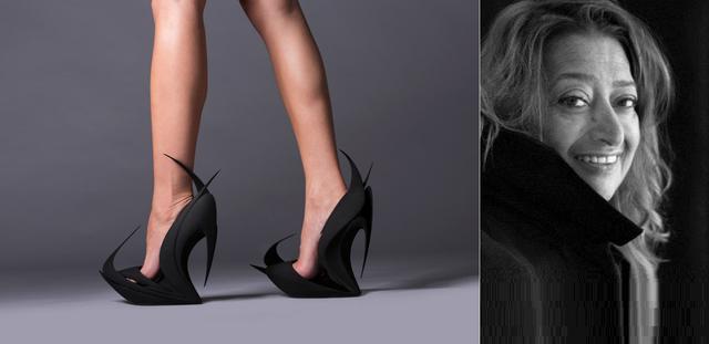 De fabuleuses chaussures en 3D - LADN