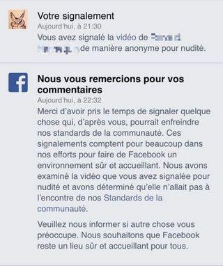 La vidéo de viol dénoncée sur Facebook