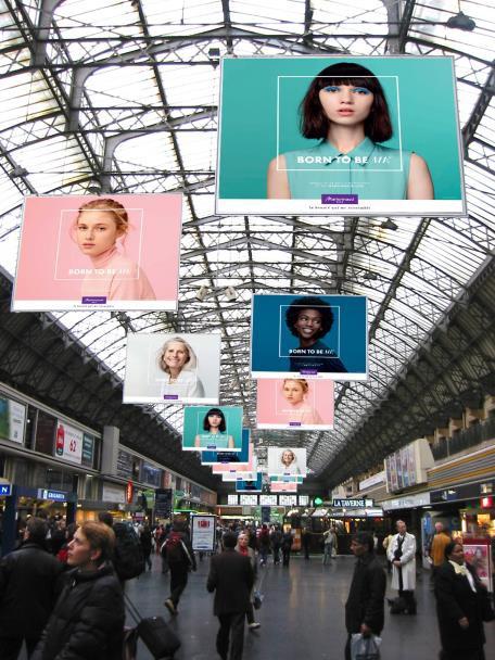 Nouvelle campagne Marionnaud par Rosapark L'ADN